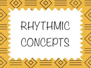 djembe drum lessons - Rhythmic Concepts